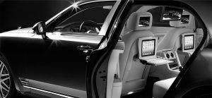 luxury car chauffeur London