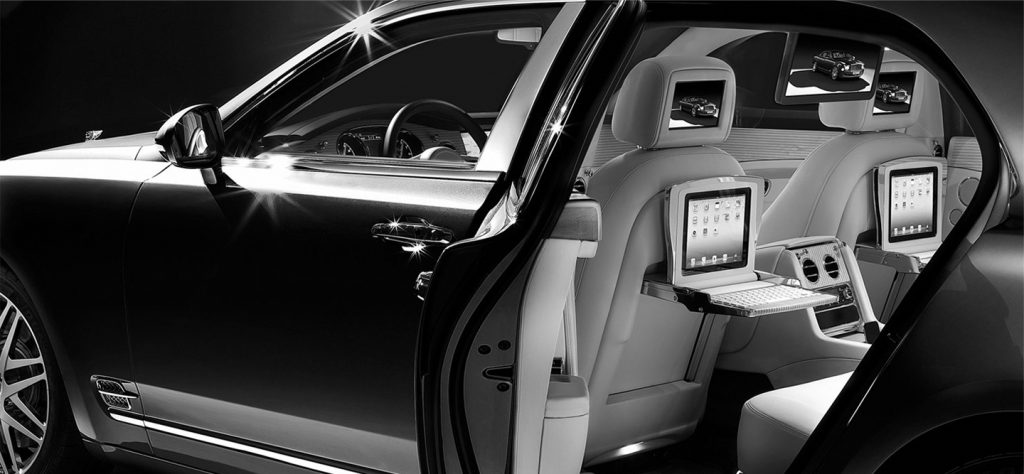 luxury car chauffeur London