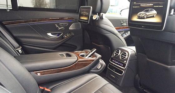 Mercedes chauffeur London