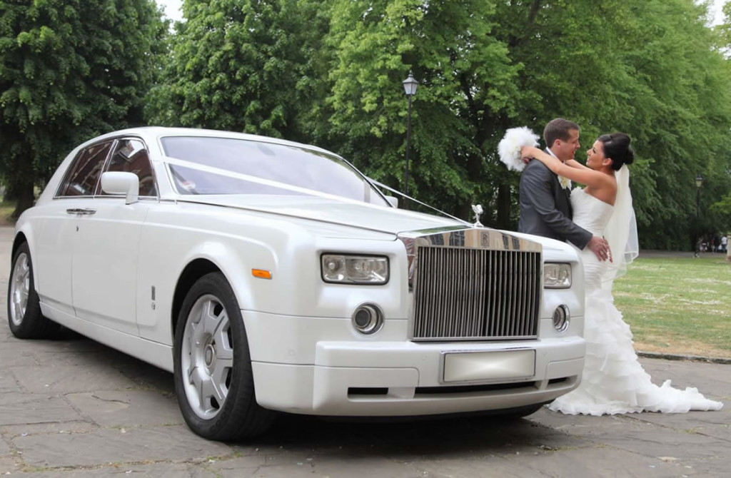 Wedding car Chauffeur